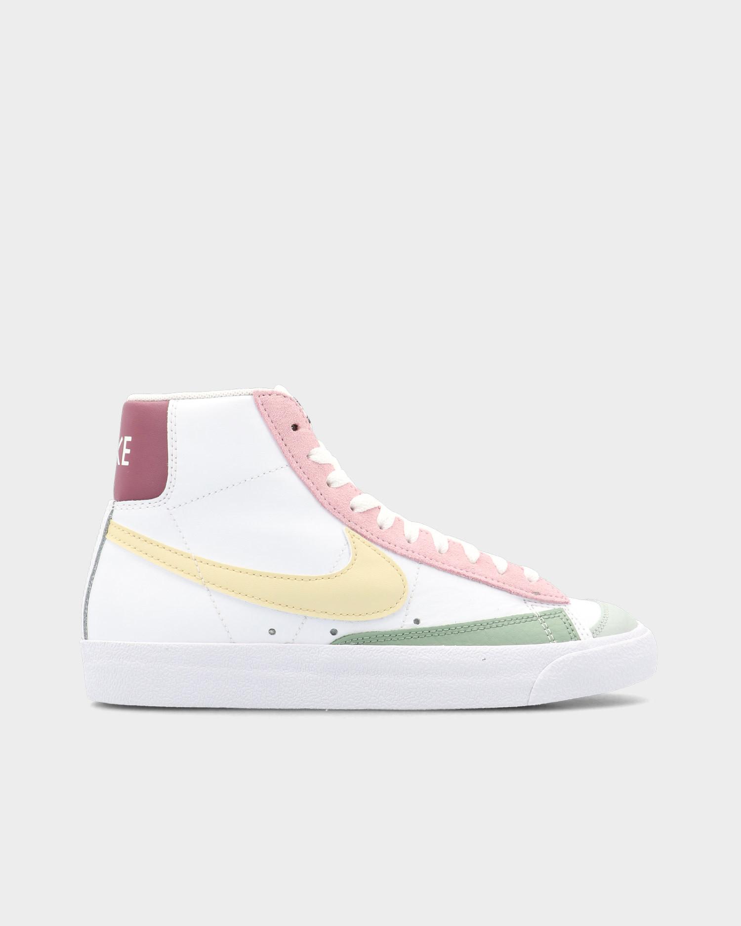 Nike Blazer Mid '77 White/Lemon Drop/Regal Pink