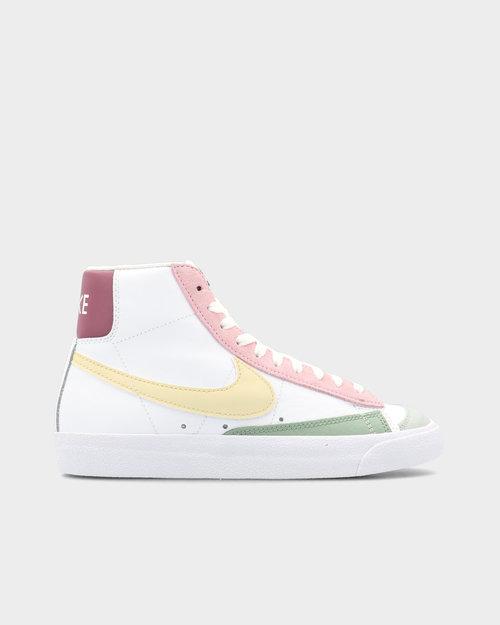 Nike Nike Blazer Mid '77 White/Lemon Drop/Regal Pink