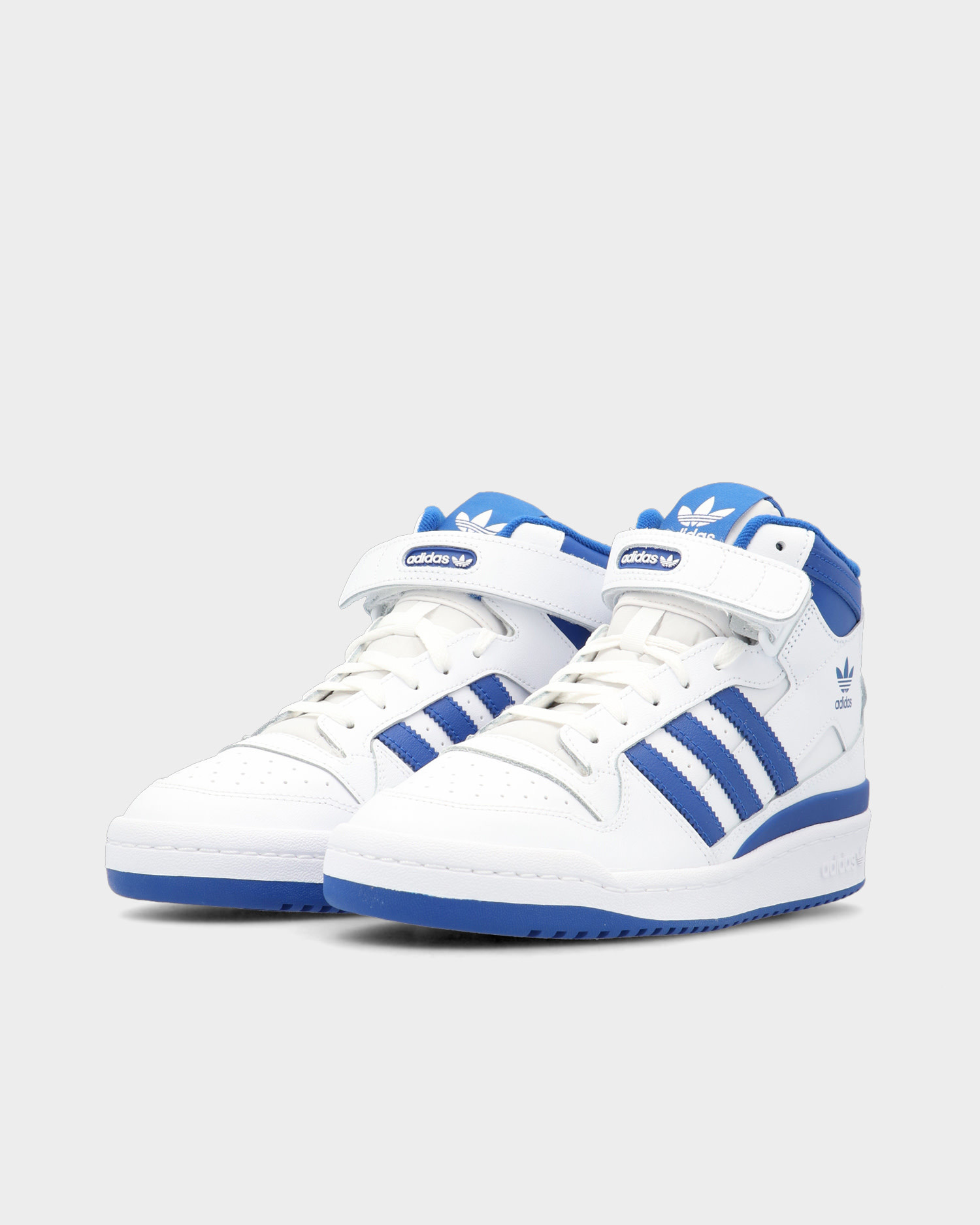 Adidas Forum Mid Cloud White / Royal Blue / Cloud White