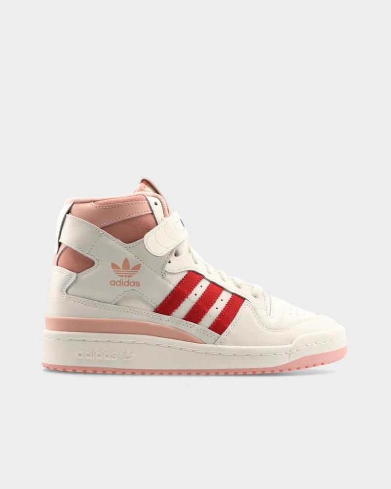 Adidas Adidas Forum 84 Hi Off White/Glow Pink/Vivid Red