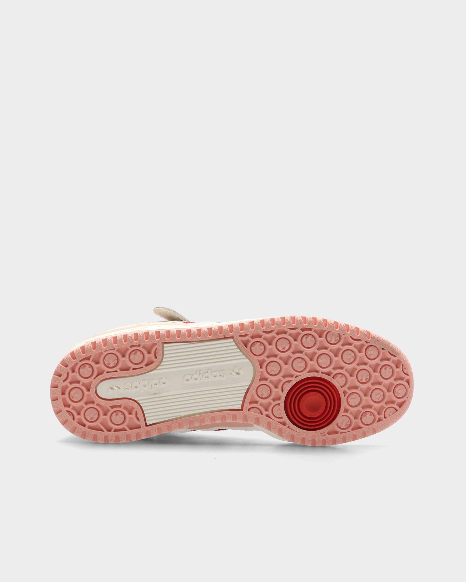 Adidas Forum 84 Hi Off White/Glow Pink/Vivid Red