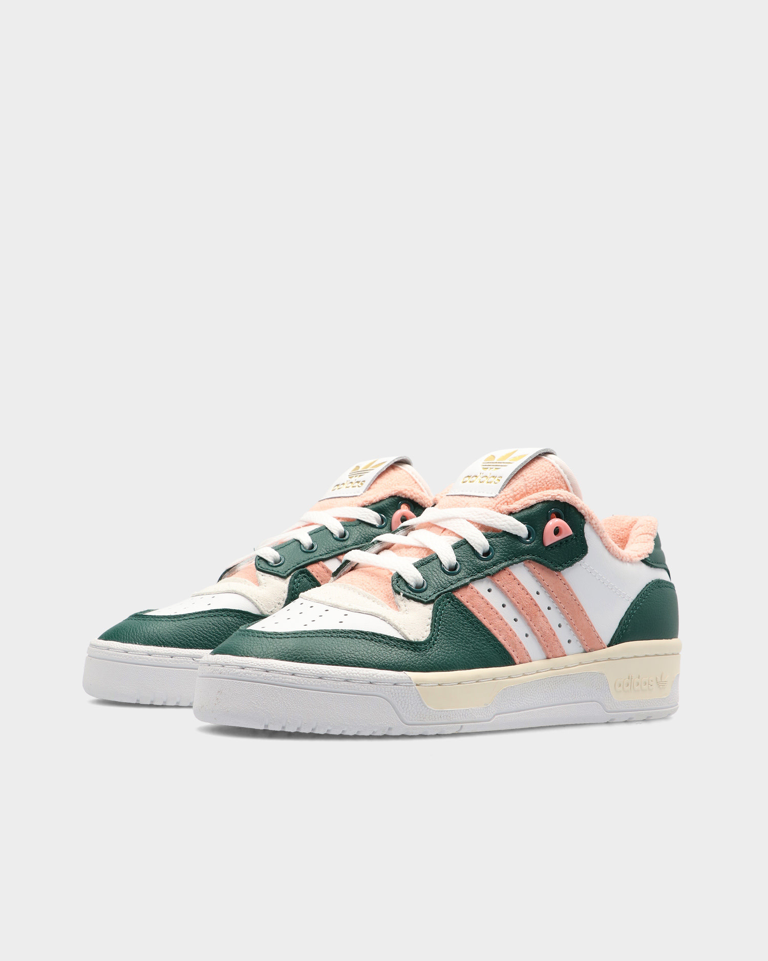 adidas Rivalry Low Premium Clear Green/Glow Pink/White