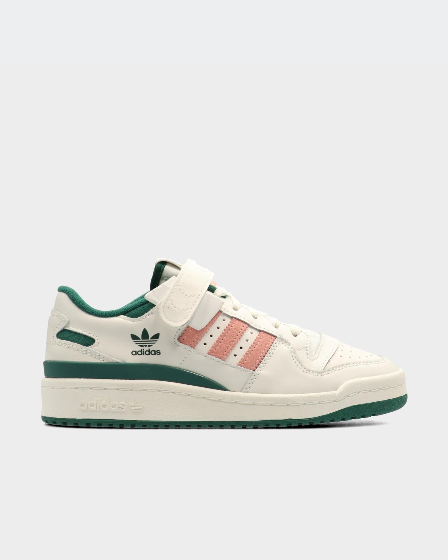 adidas Forum 84 Low Off White/Collegiate Green/Glow Pink