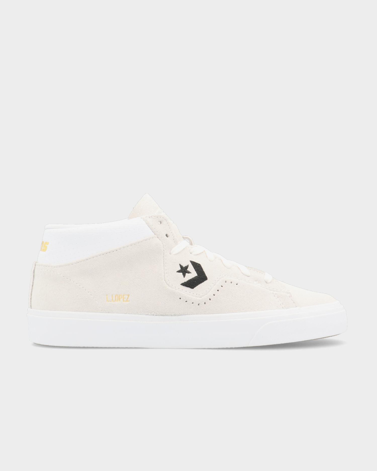 Converse Louie Lopez Pro Mid White/Black/White