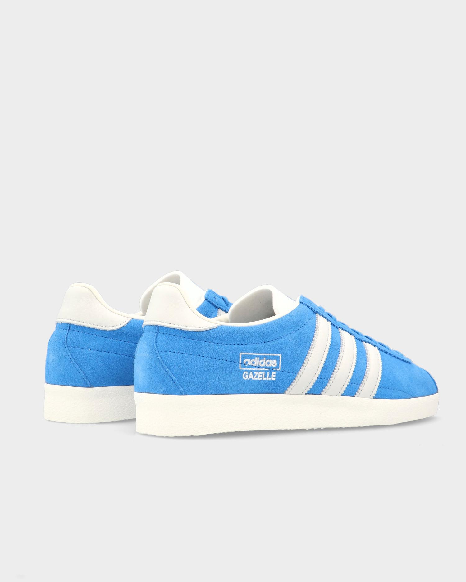 Adidas Gazelle Vintage Blue Bird /Off White /Chalk Yellow