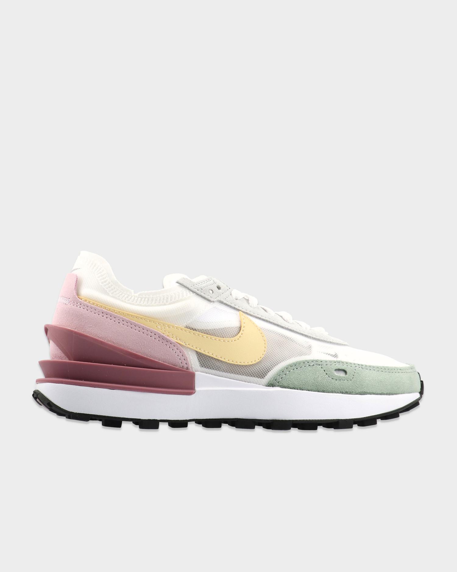 Nike Waffle One White/Lemon Drop/Regal Pink