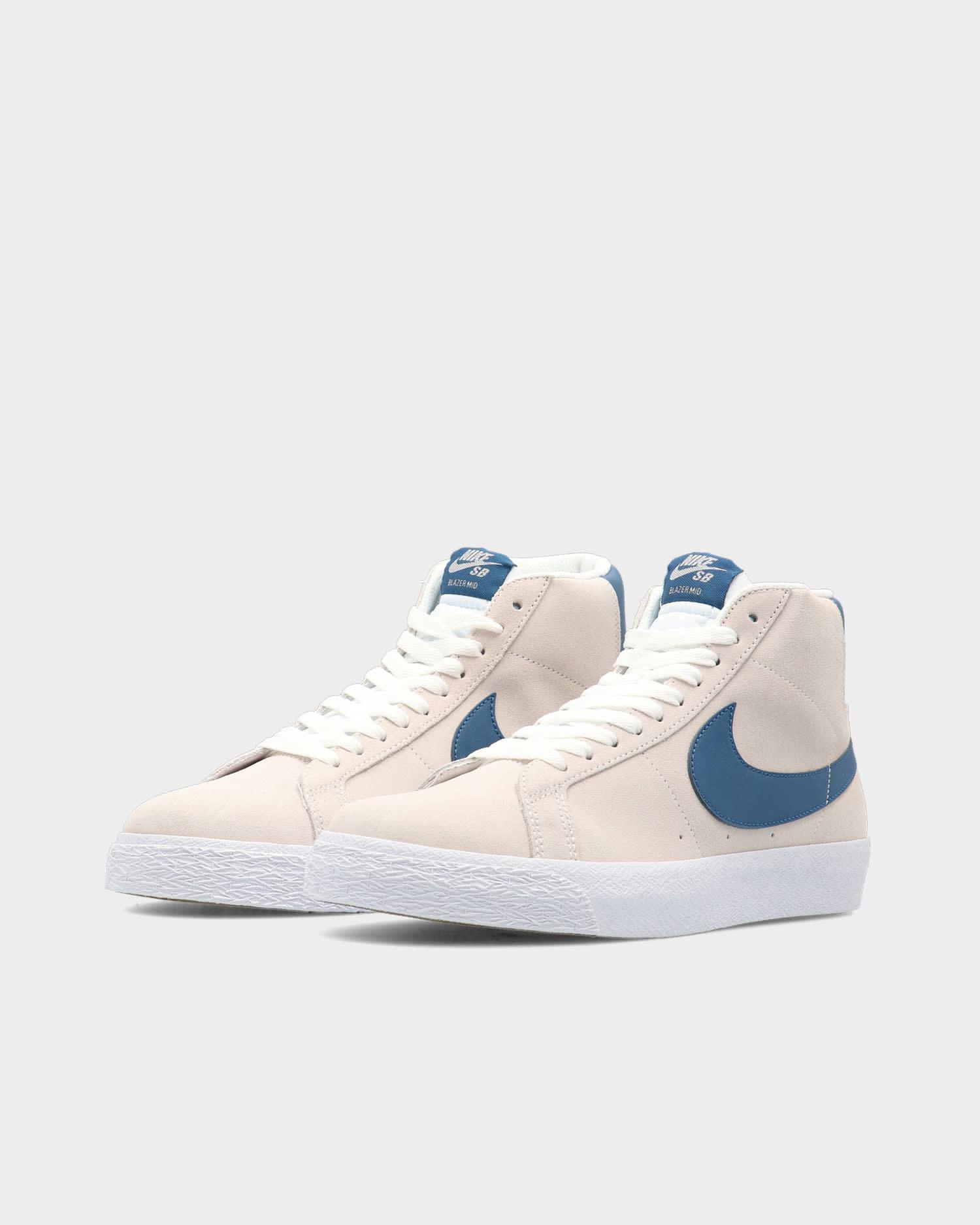 Nike SB Zoom Blazer Mid White/Crtblu