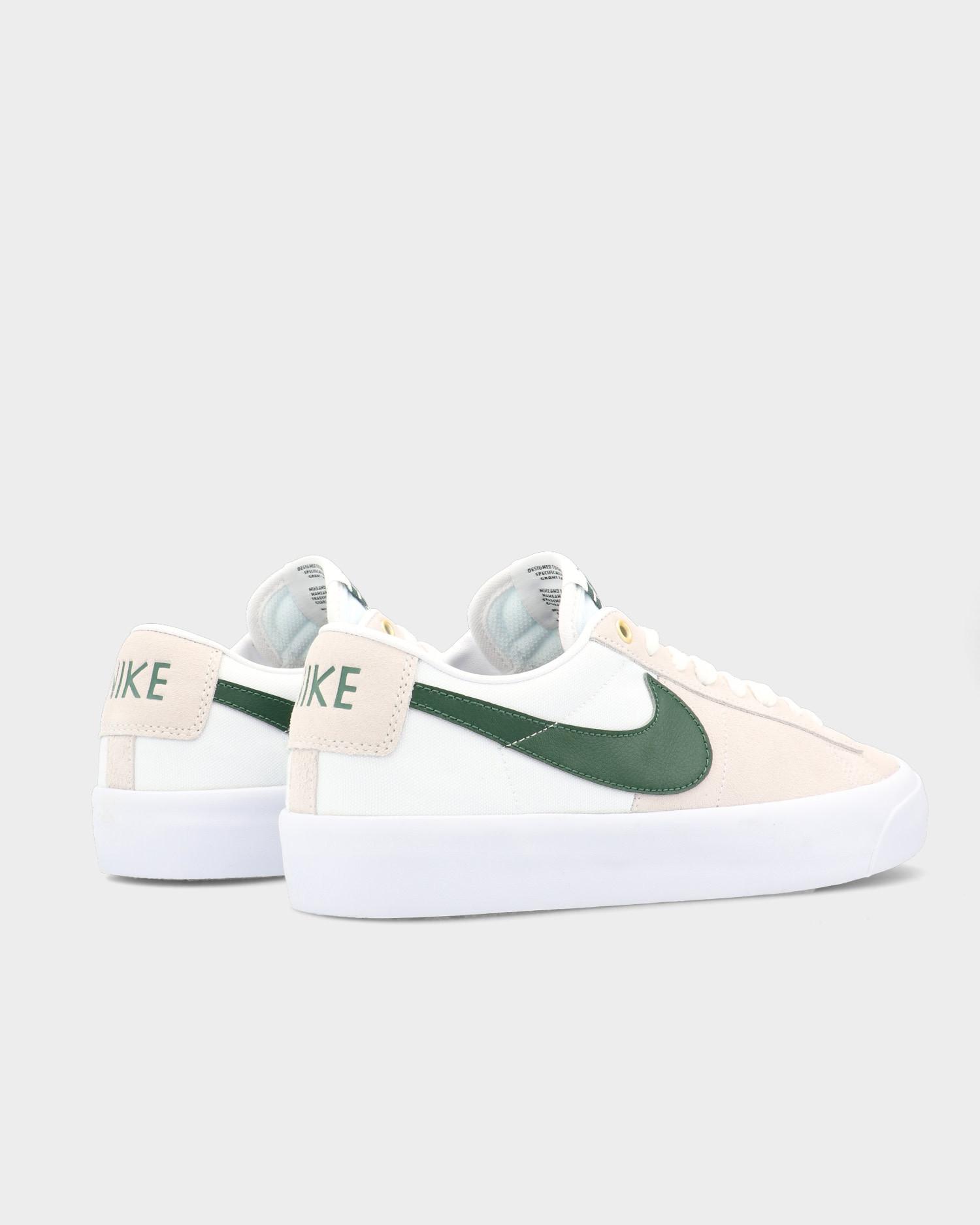 Nike SB Blazer Low Pro GT White/Fir-White-Gum Light Brown
