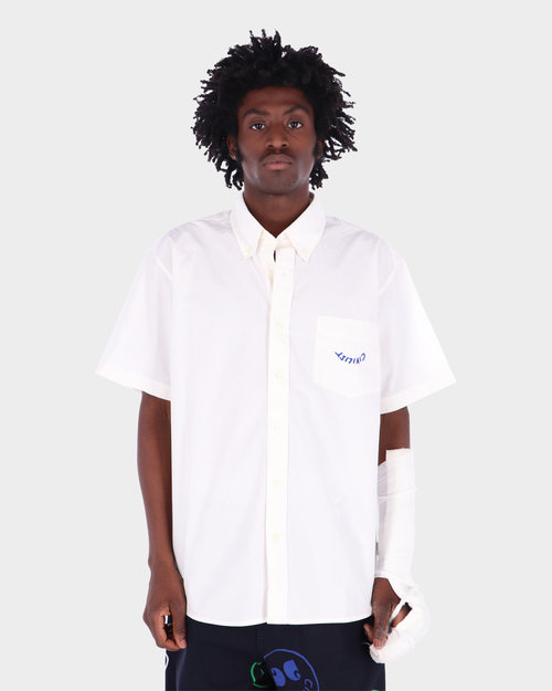 Carhartt Carhartt x  Civilist Logo Pocket Shirt Cotton Wax/Blue Garme