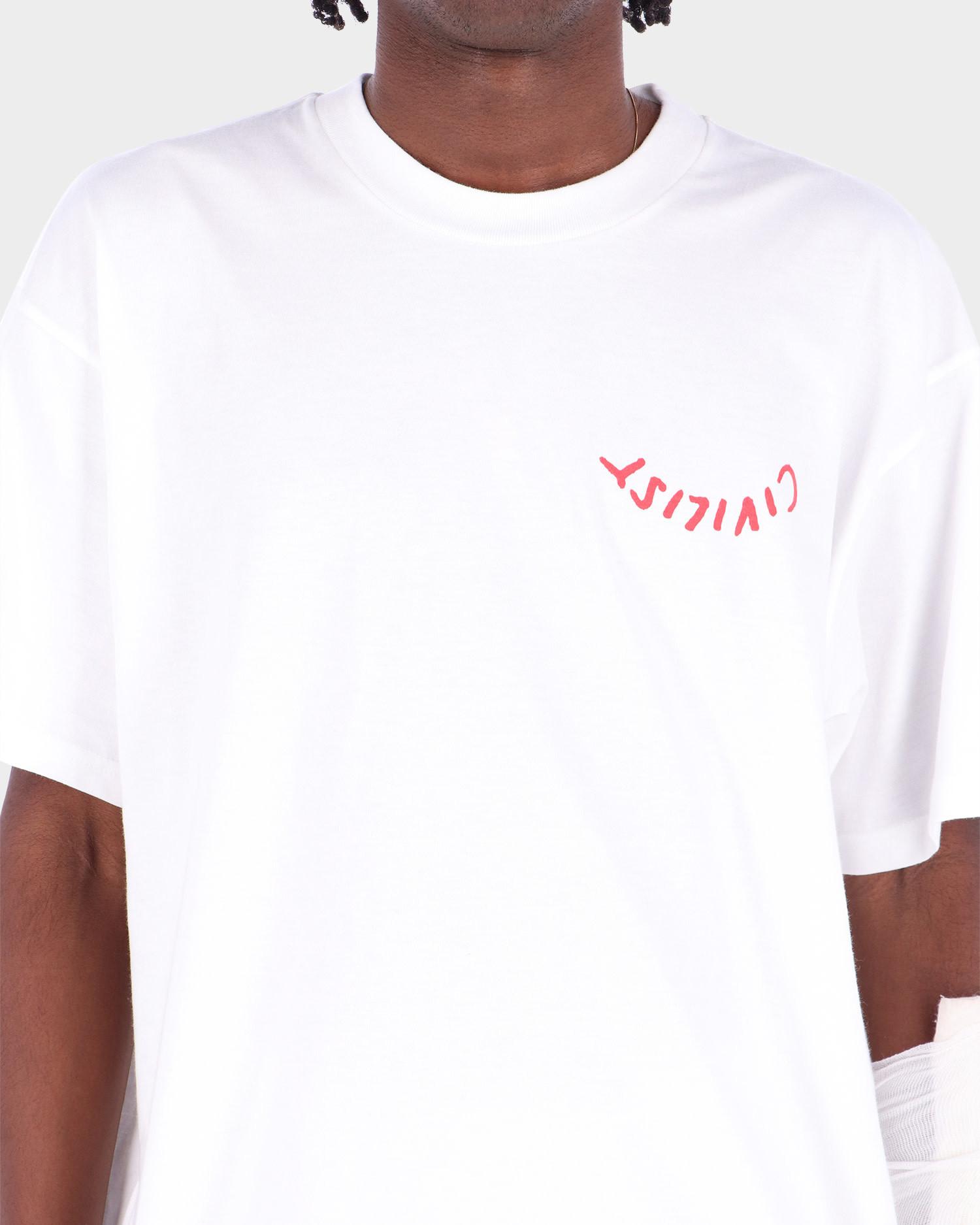 Carhartt X Civilist Logo T-Shirt White