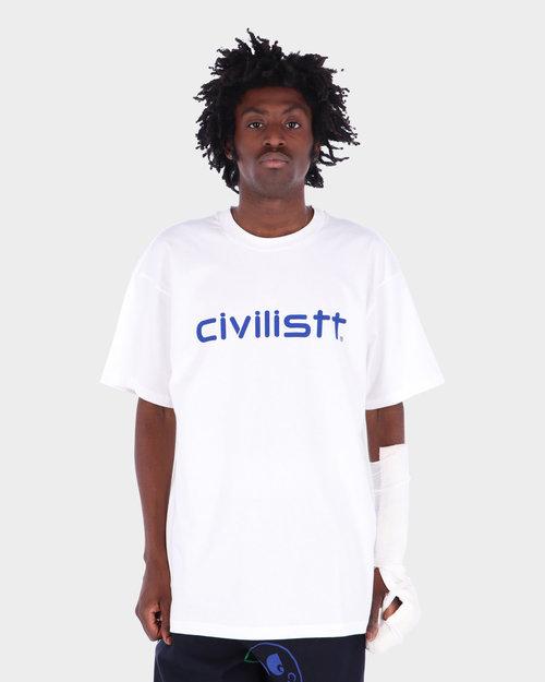 Carhartt Carhartt x Civilist Script T-Shirt White/Blue