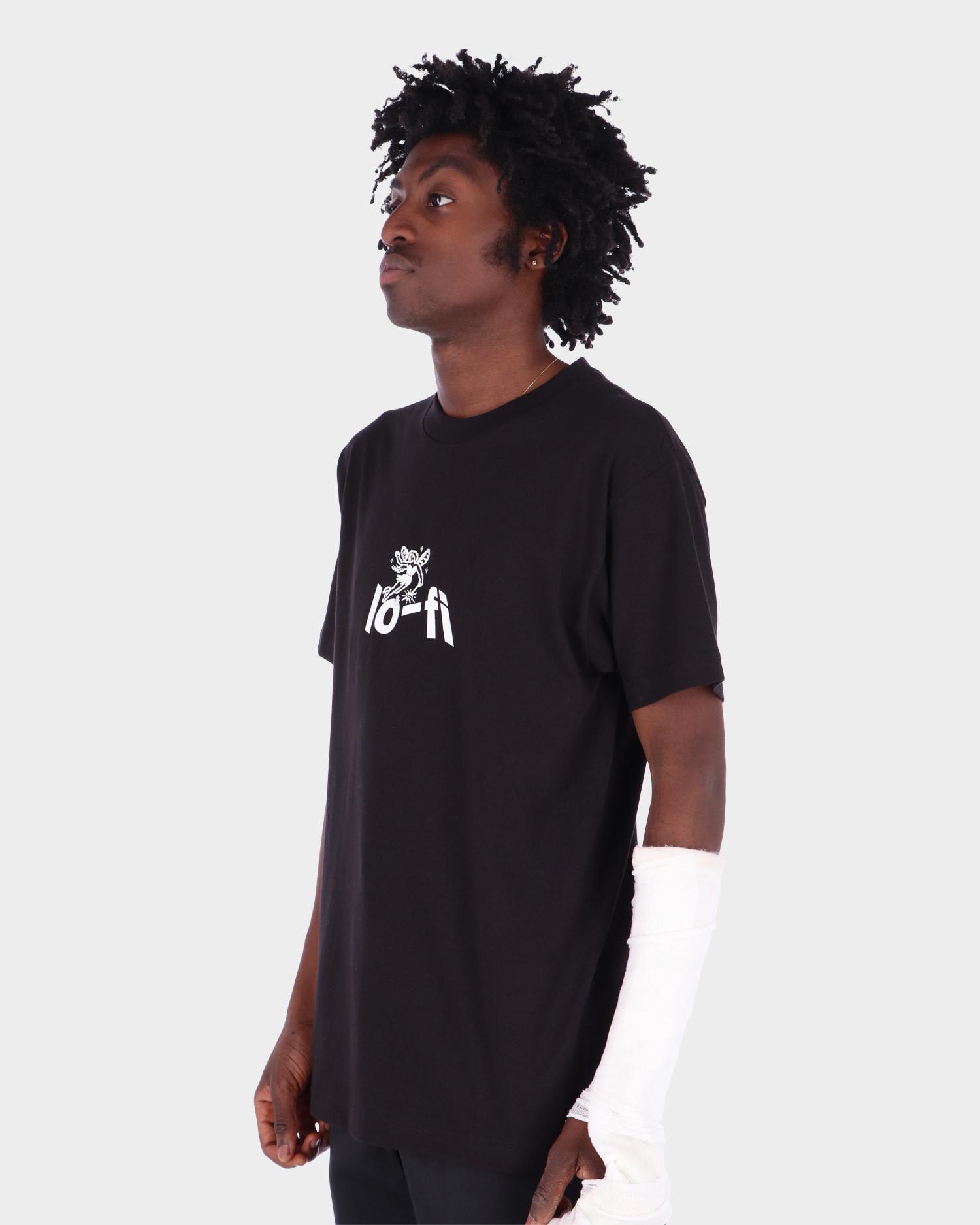 Lo-Fi Wish Logo Tee Black
