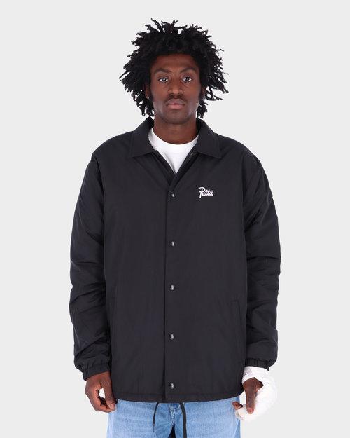 Patta Patta Basic Sherpa Coach Jacket Black