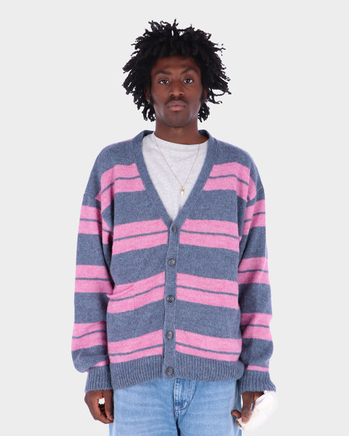 Pop Trading Co Pop Trading Co Captain Knitted Cardigan Zephyr