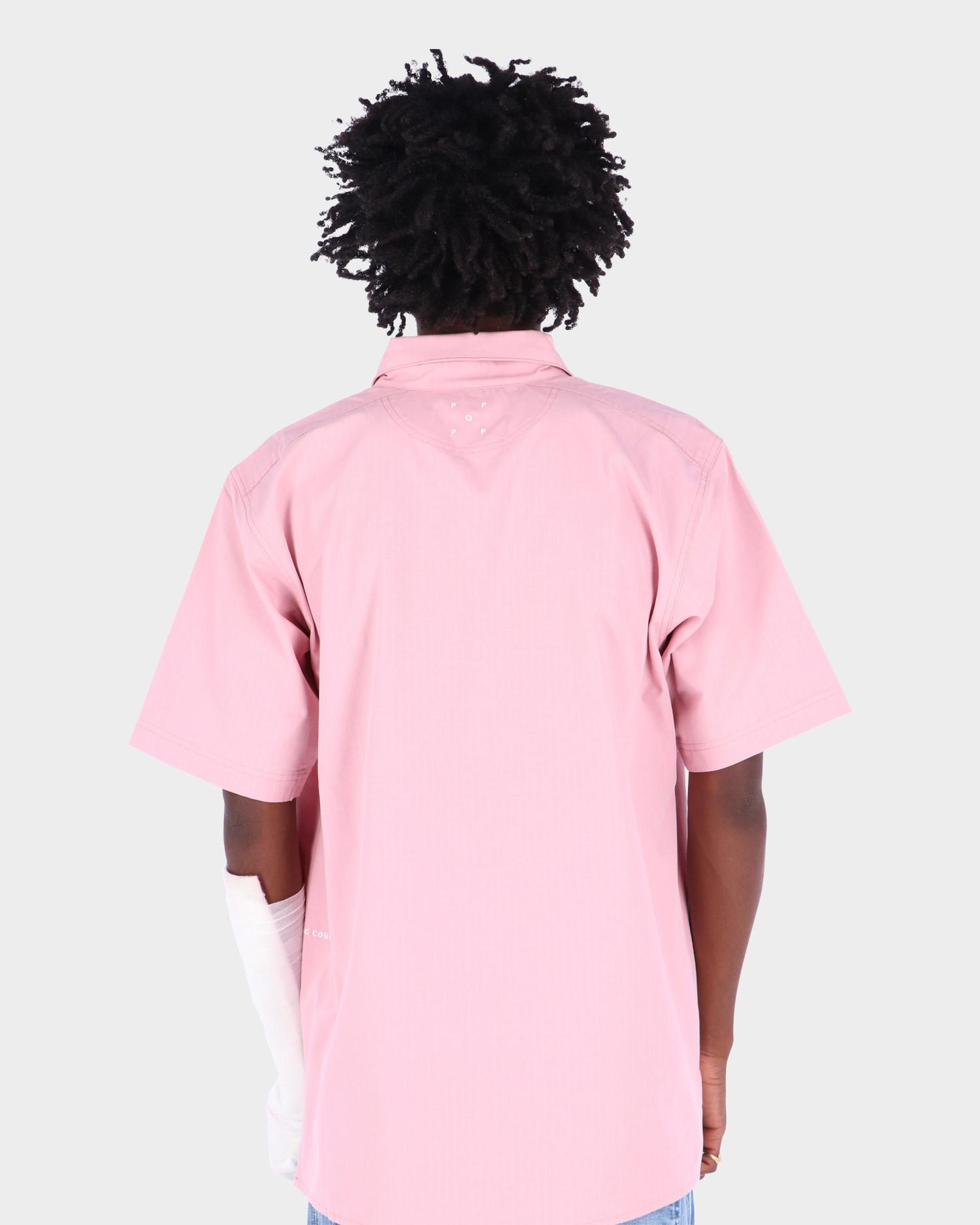 Pop Trading Co Italo Shortsleeve Shirt Zephyr