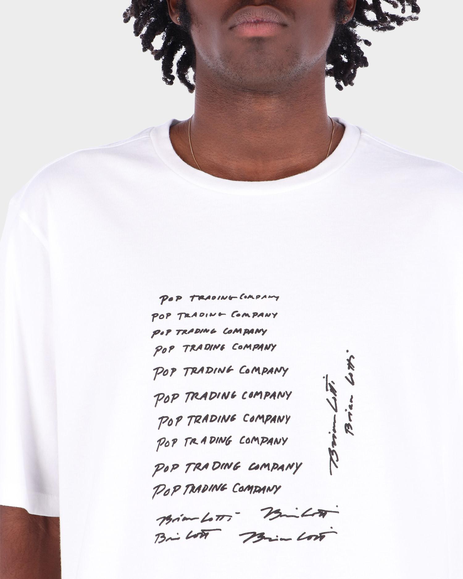 Pop Trading Co Lotti T-Shirt White