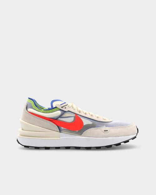 Nike Nike Waffle One Coconut Milk/Bright Crimson-Hyper Royal