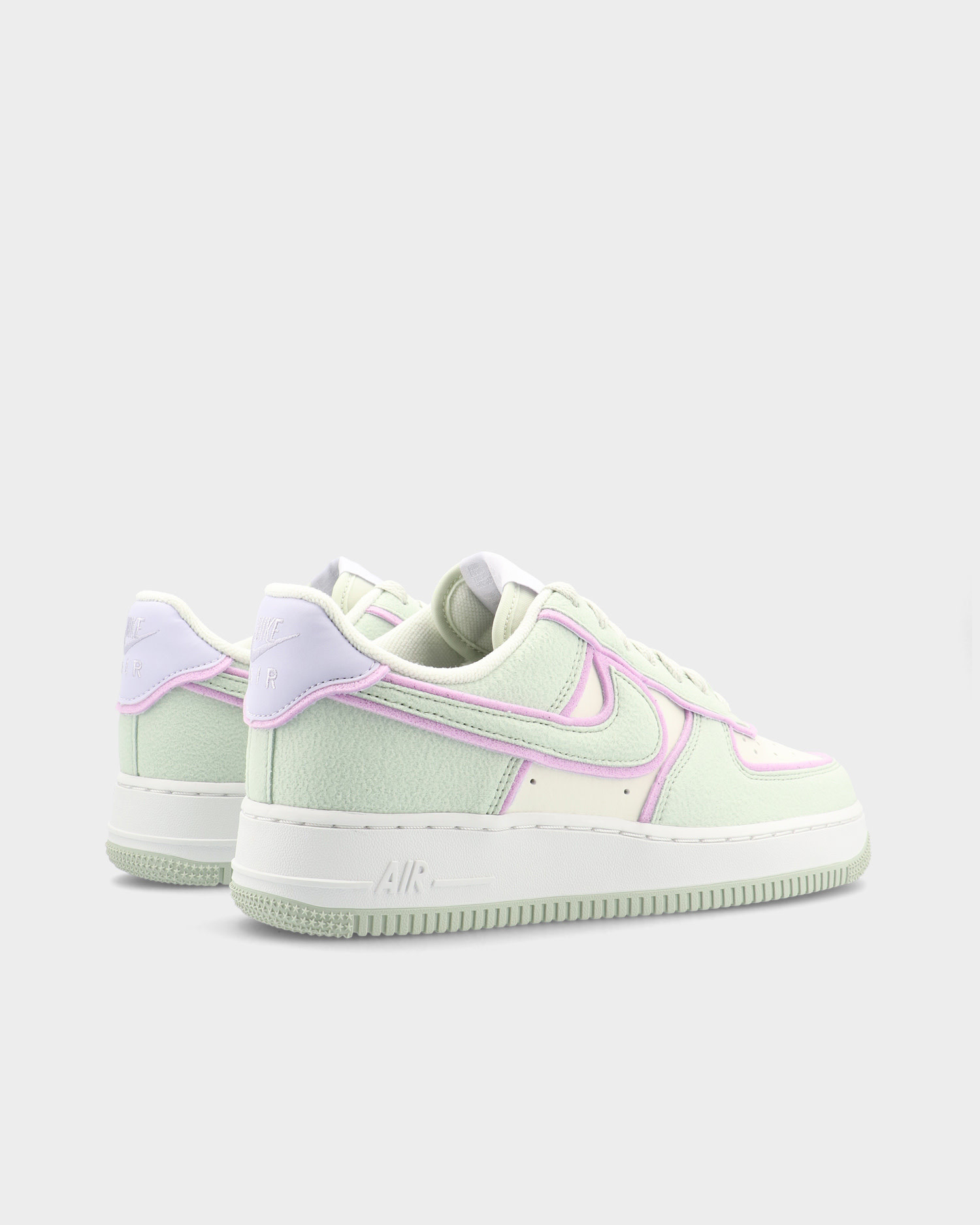 Nike air force 1 Sea glass/seafoam-pure violet