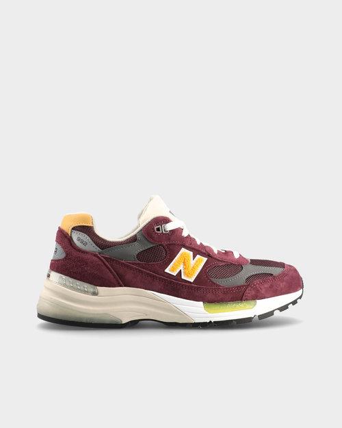 """New Balance New Balance M992CA """"Marathon"""" Burgundy/Yellow"""