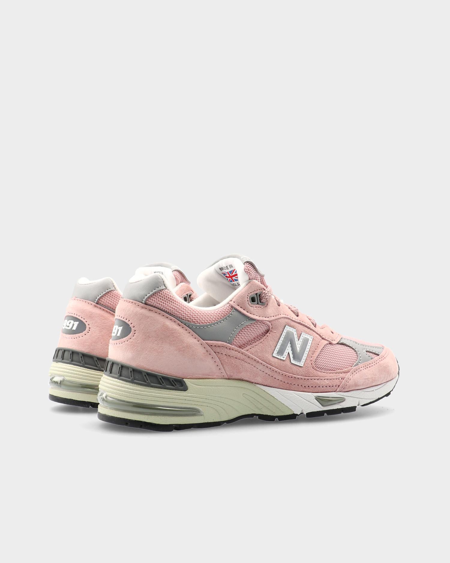 New Balance W991PNK Pink