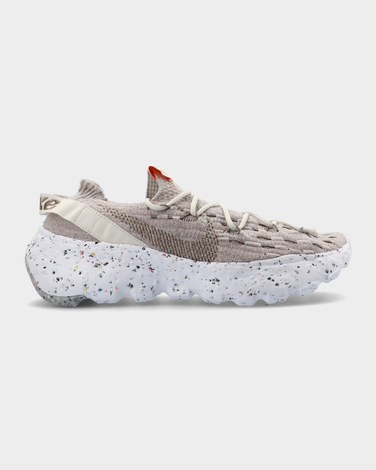 Nike Space Hippie 04 Light Bone/Olive Grey-White-Orange