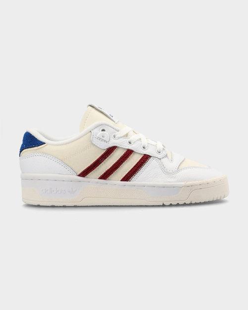 Adidas adidas Rivalry Low Premium Footwear White/Collegiate Burgundy/Core White