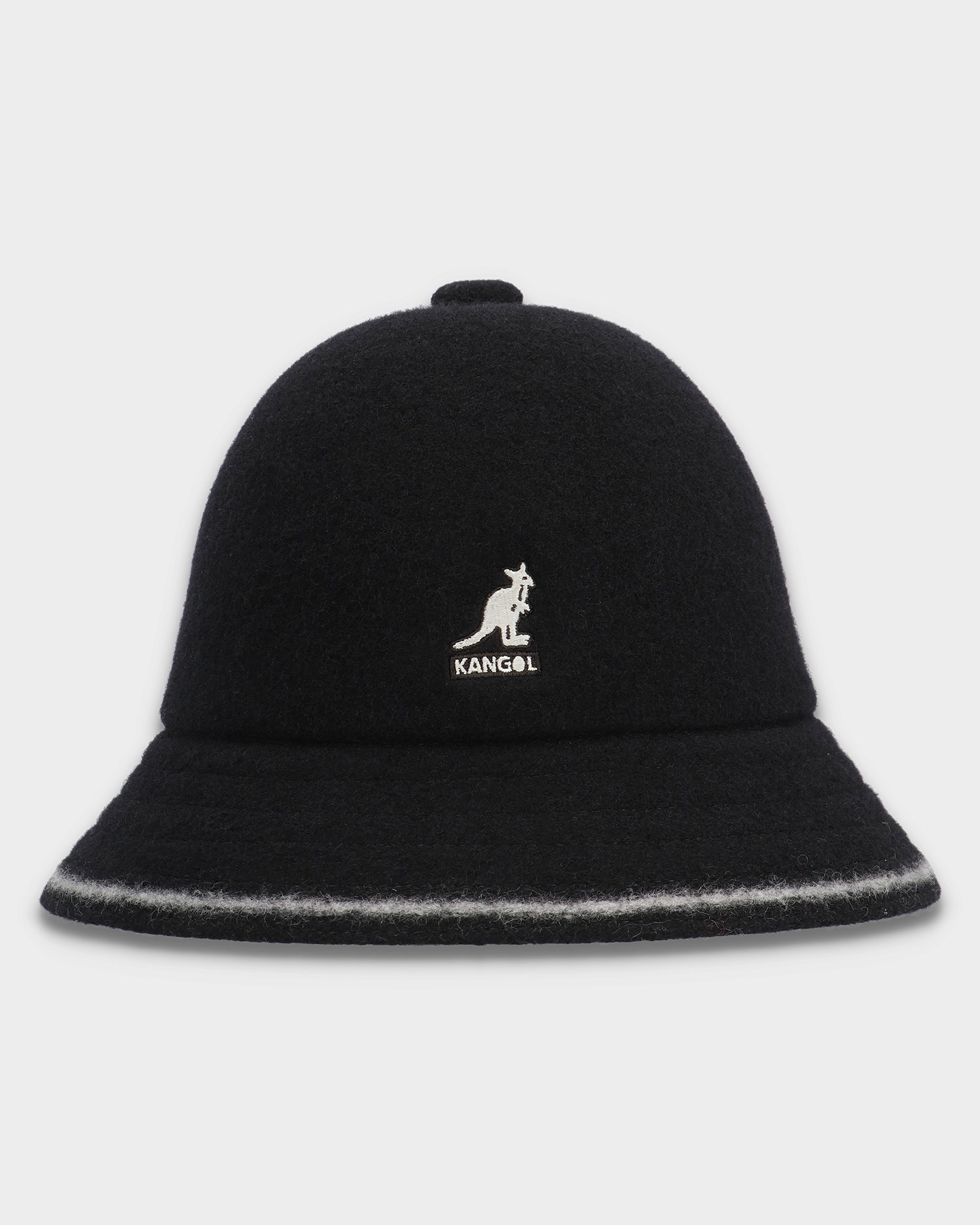 Kangol Stripe Casual Hat Black/Off White