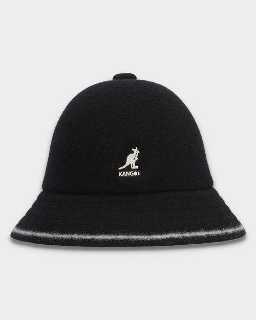 Kangol Kangol Stripe Casual Hat Black/Off White