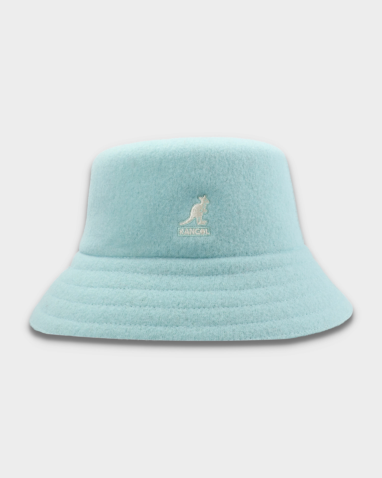 Kangol Wool Lahinch Bucket Hat Blue Tint