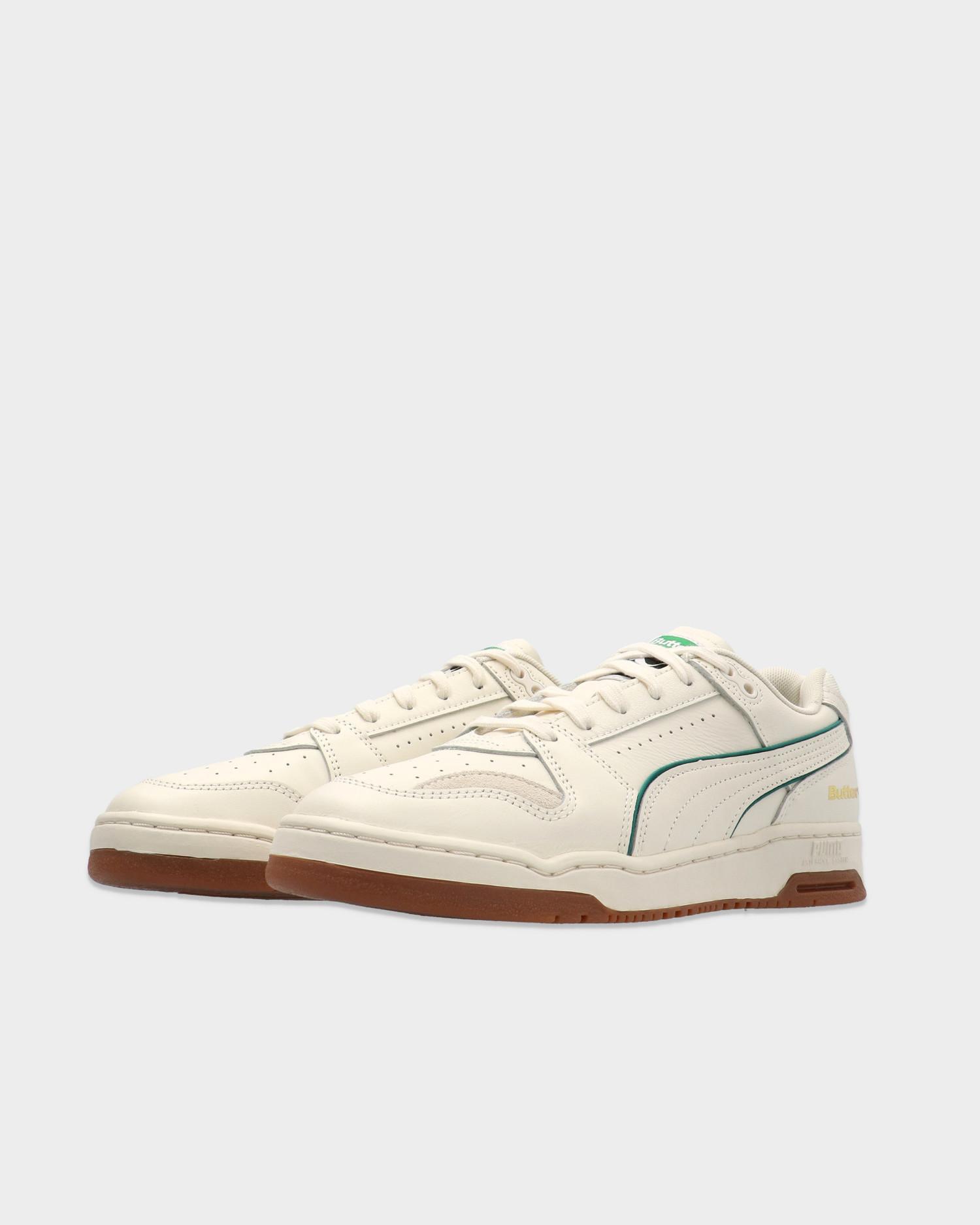 Puma Slipstream Lo x Butter Goods / Whisper White-Cadmium Green