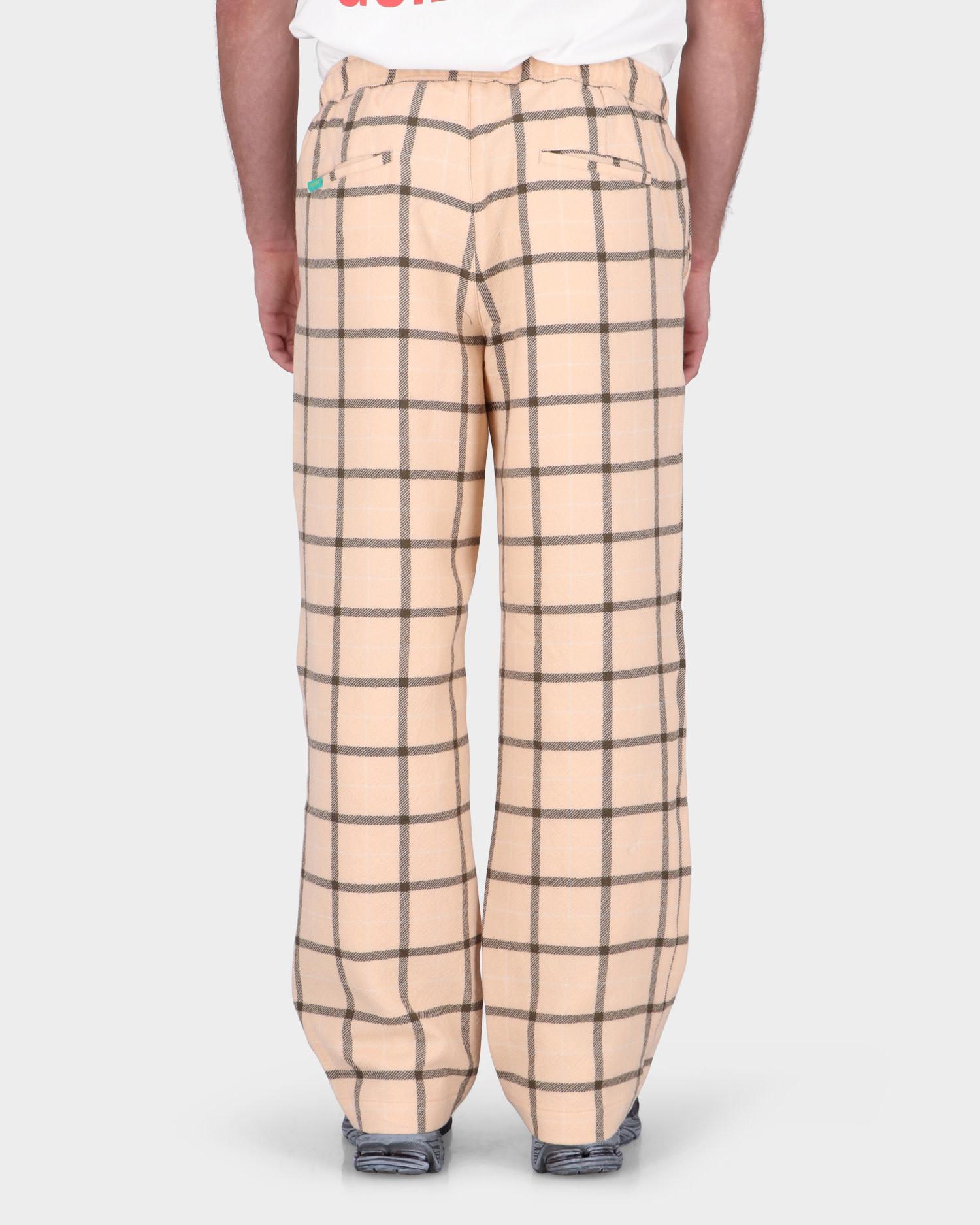 Paccbet Wool Pants Woven Beige