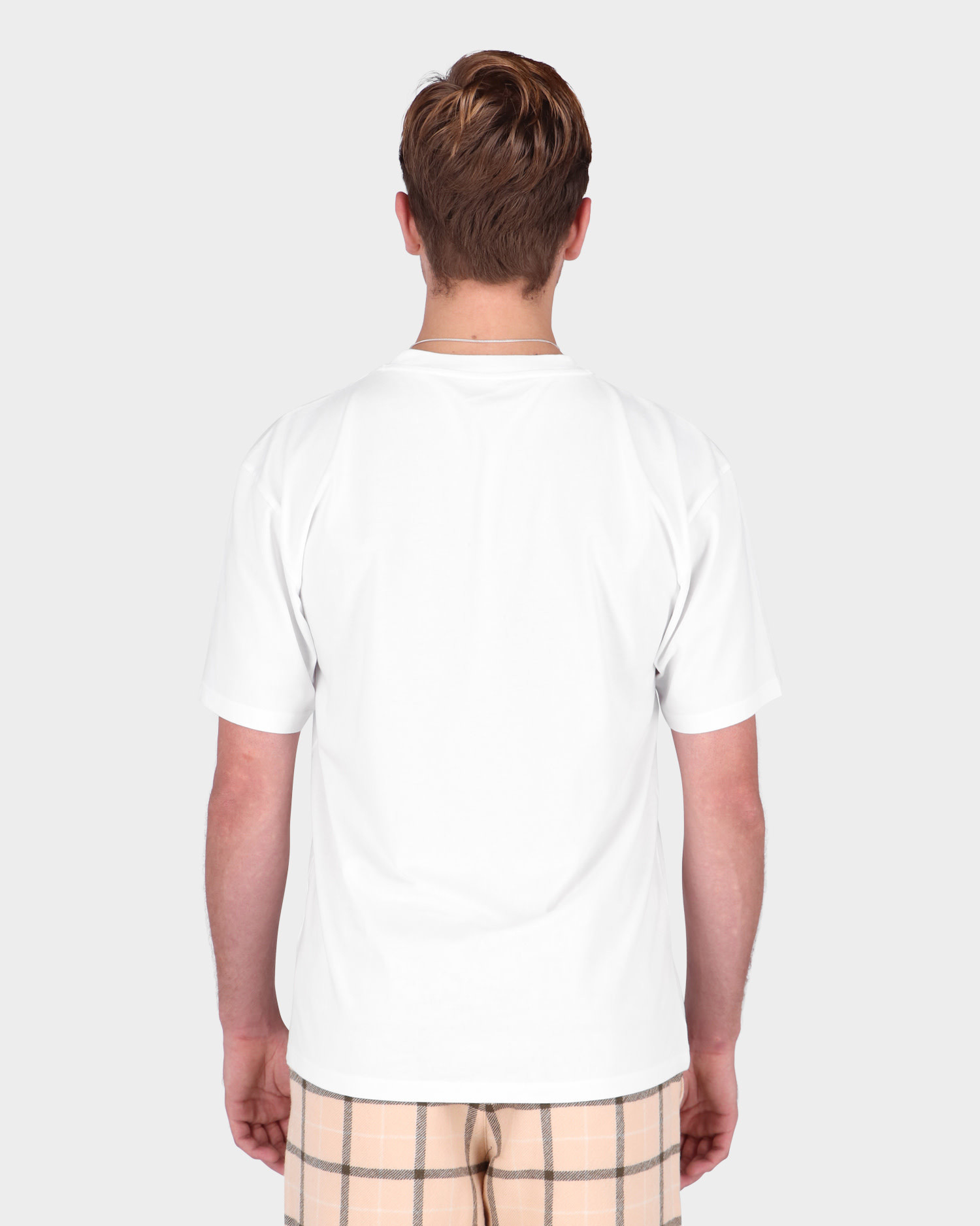 Paccbet Cotton Knitted T-Shirt White