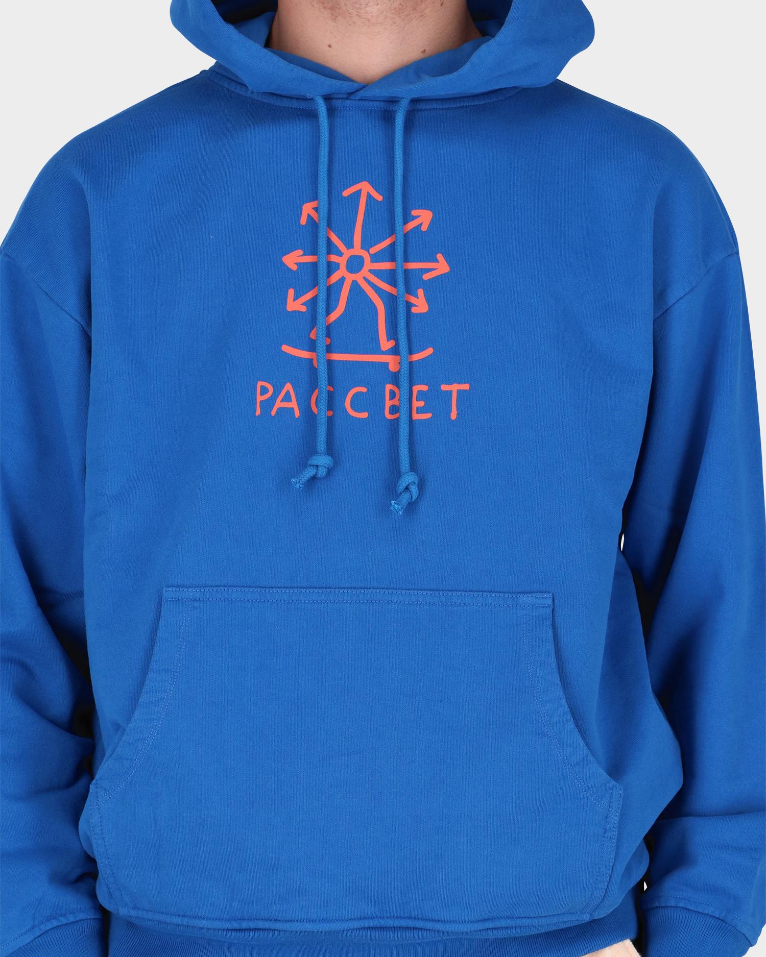 Paccbet Skate Hoodie Blue