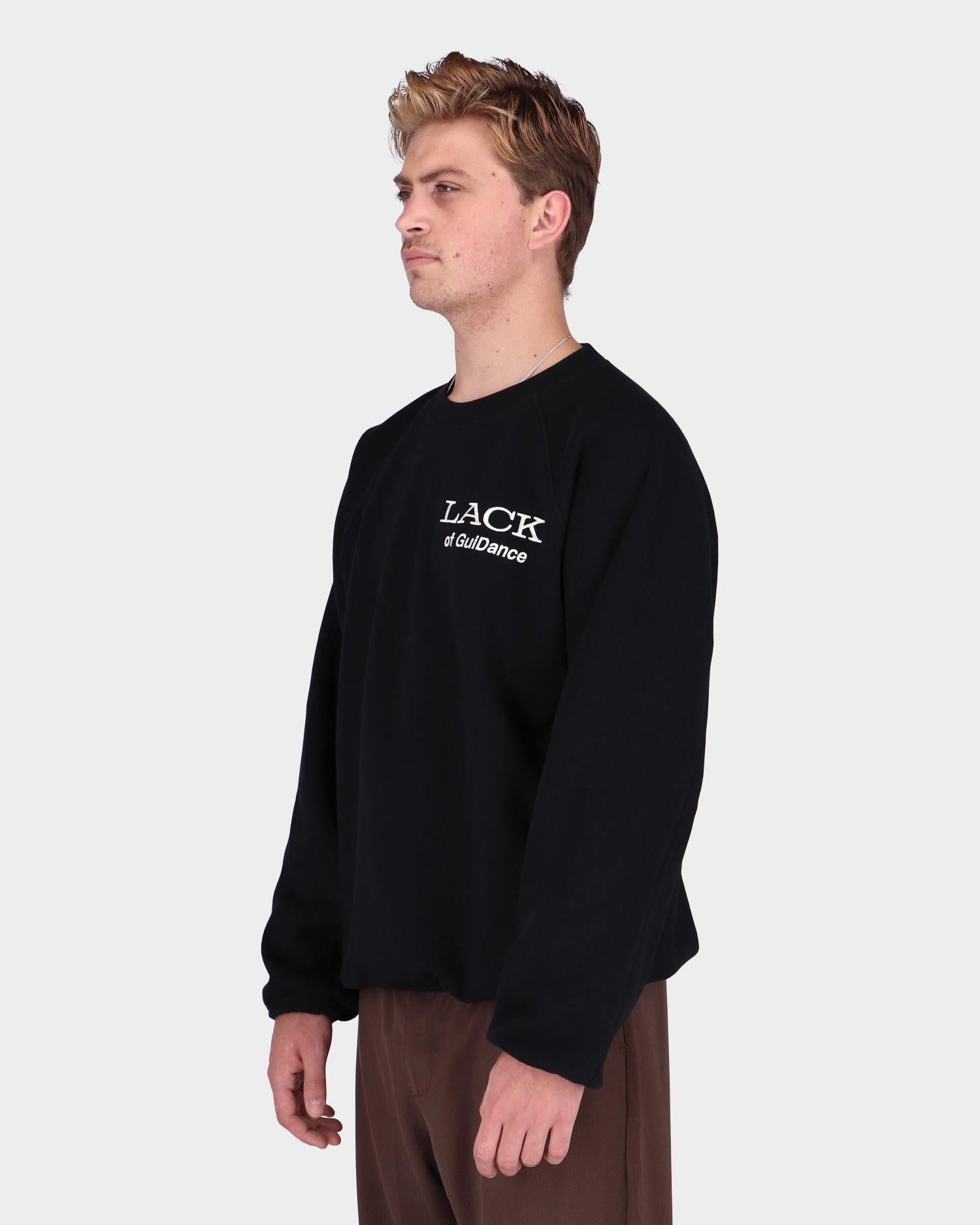 Lack Of Guidance Alessandro Sweater Black
