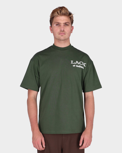 Lack Of Guidance Lack Of Guidance Alessandro T-shirt Forest Green