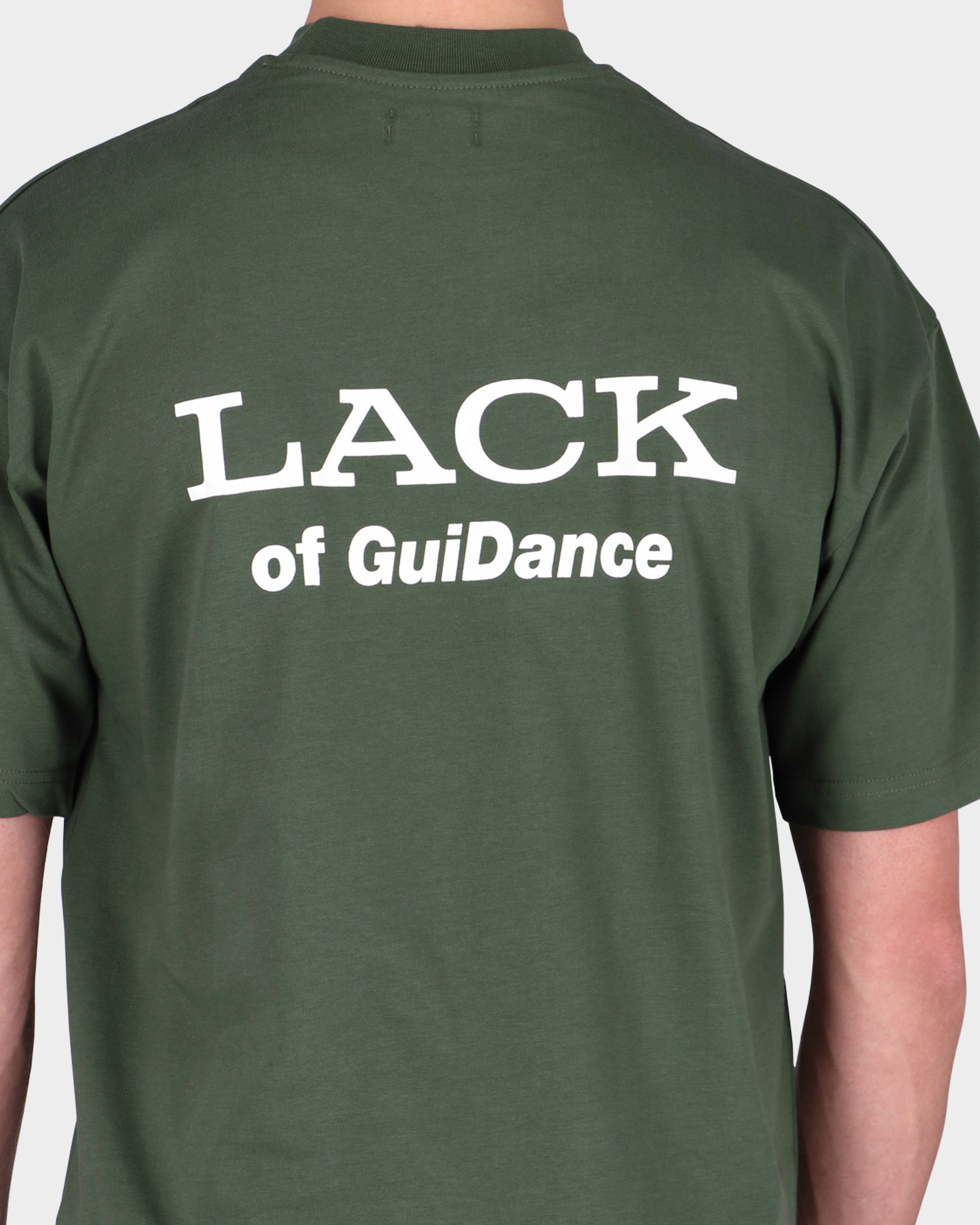 Lack Of Guidance Alessandro T-shirt Forest Green