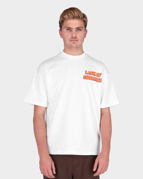 Lack Of Guidance Lack Of Guidance Karl T-shirt White