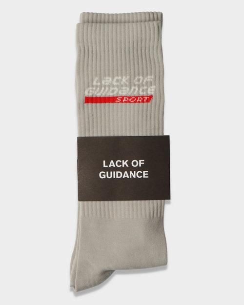 Lack Of Guidance Lack Of Guidance Sport Socks Grey