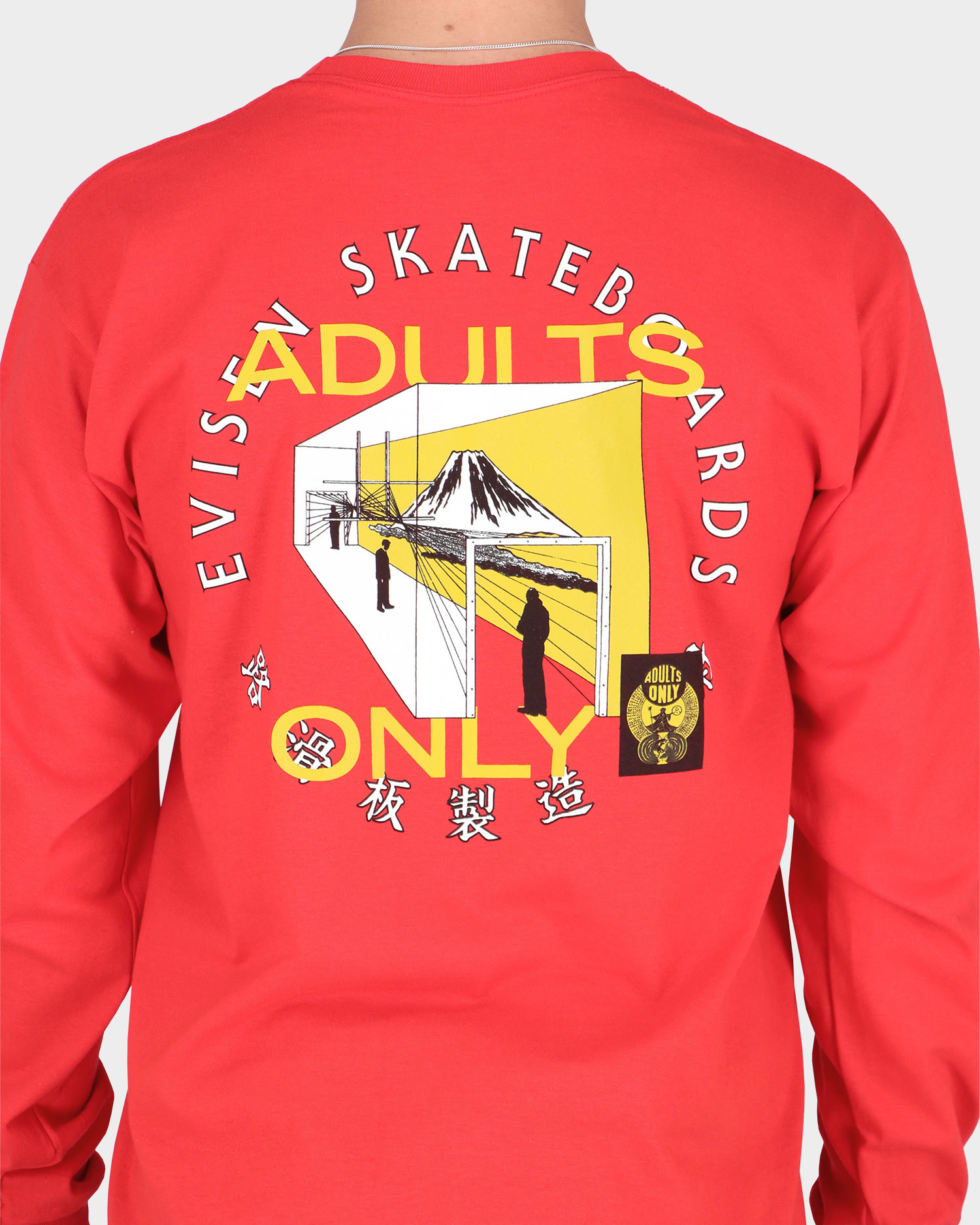 Evisen Adults Only Longsleeve Red