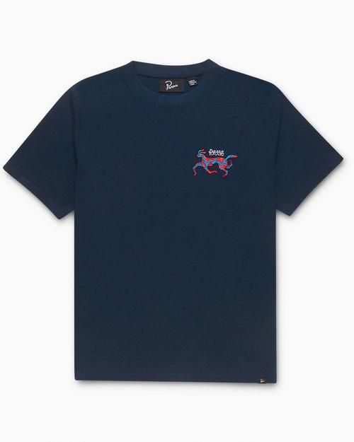 Parra Parra Dog Race T-shirt Navy