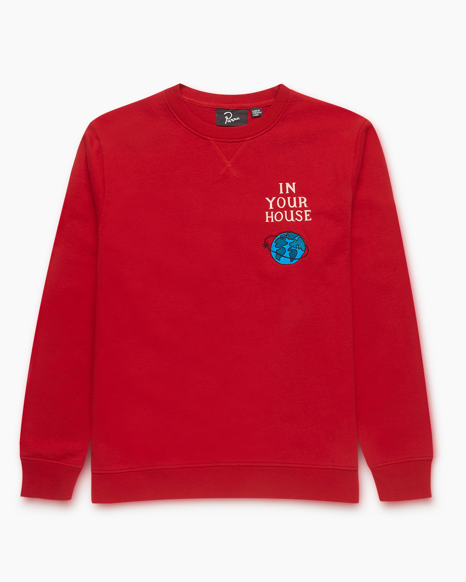Parra Systems Logo Crew Red
