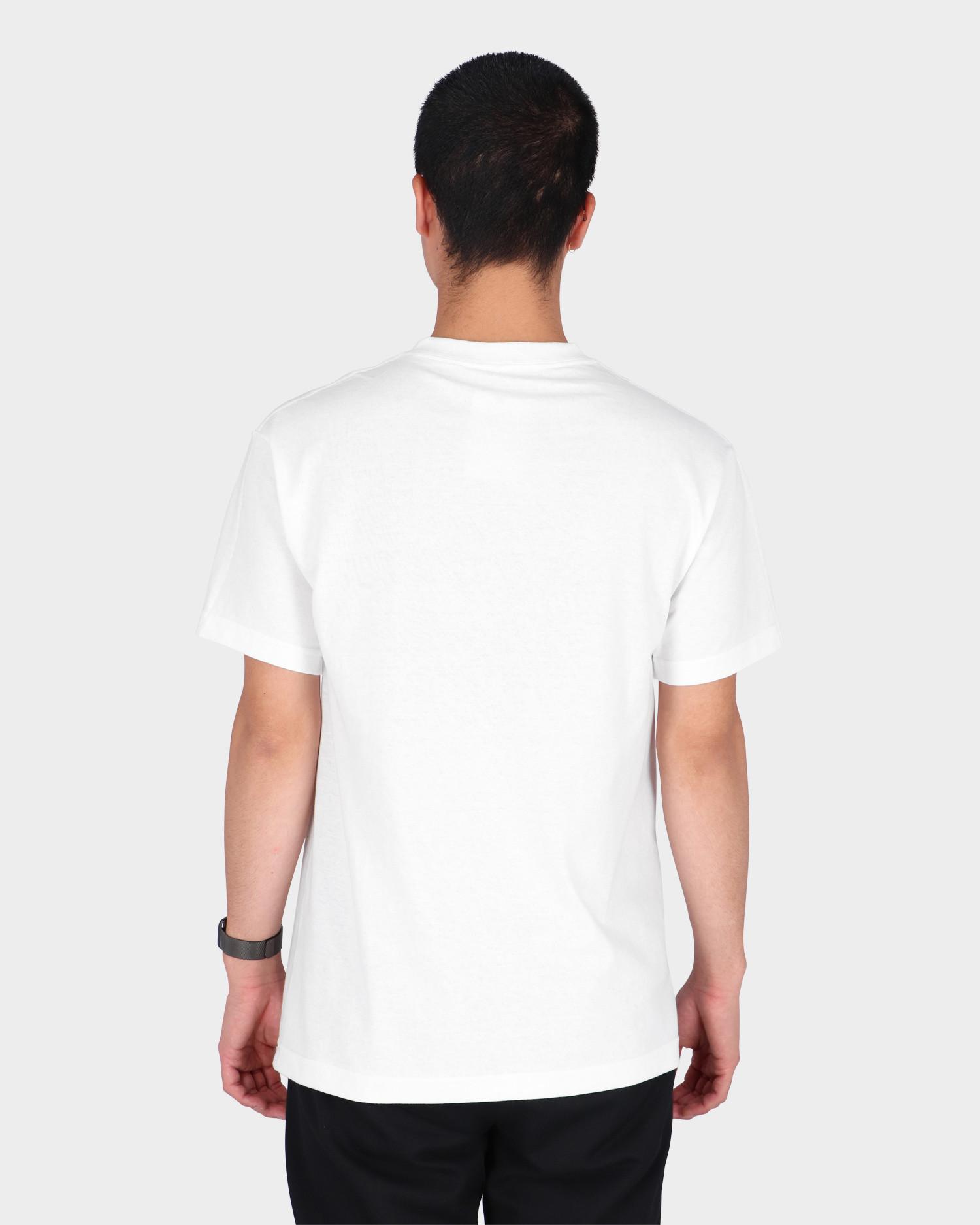 Quasi Skateboards Mr. Hand Crme T-Shirt White