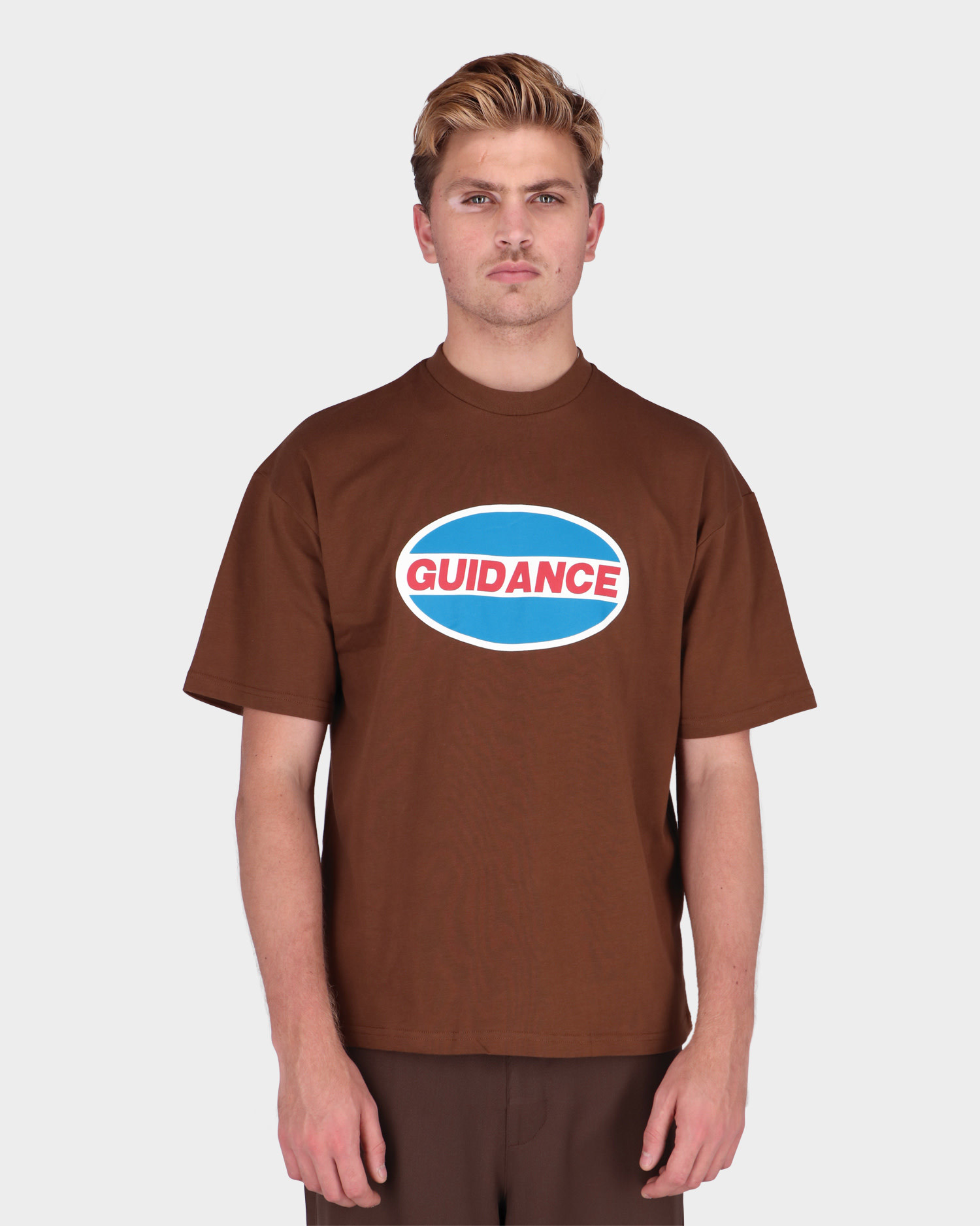Lack Of Guidance Pavel T-shirt Brown