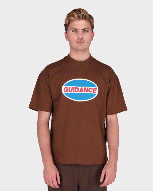 Lack Of Guidance Lack Of Guidance Pavel T-shirt Brown