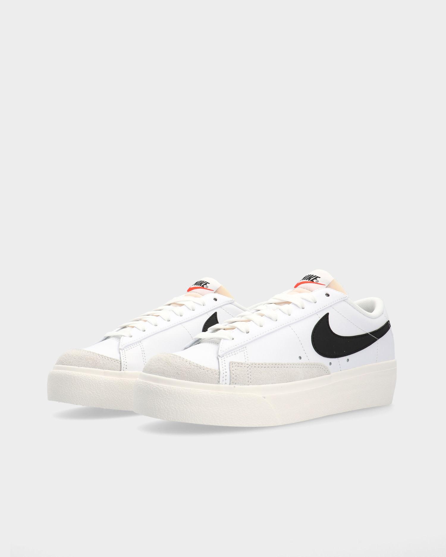 Nike Blazer Low Platform White/Black-Sail-Team Orange