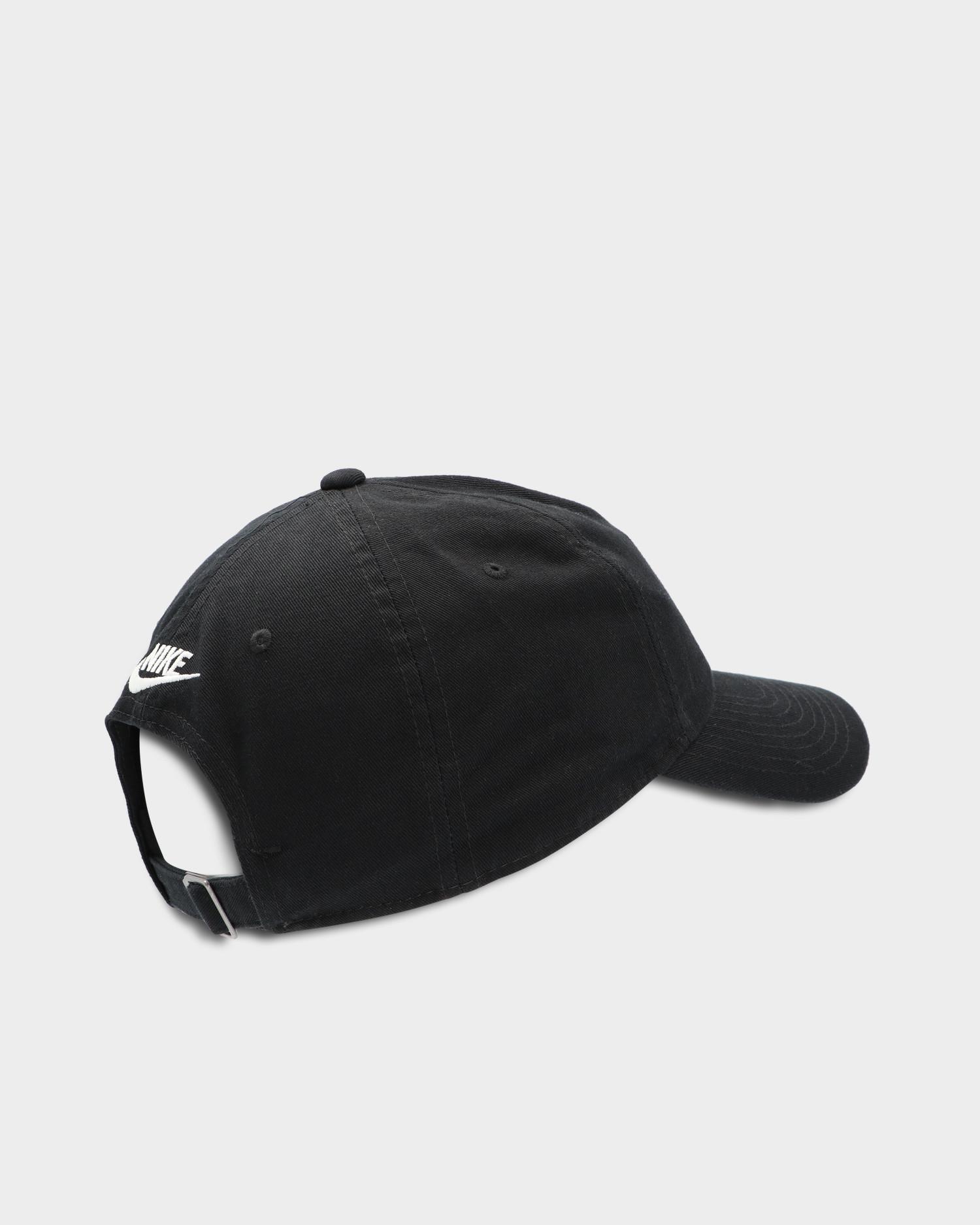 "Nike Sportswear Heritage86  ""Just Do It"" Cap Black/White"