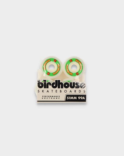 Birdhouse Birdhouse Wheels Logo Rasta 99A 51 MM