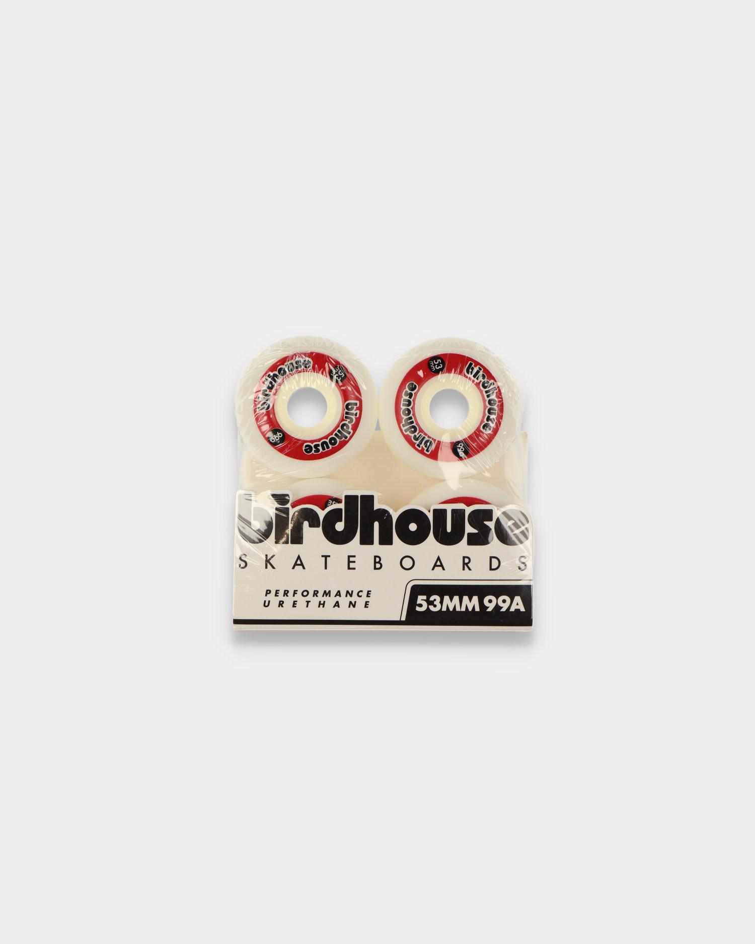 Birdhouse Wheels Logo Red 99A 53 MM