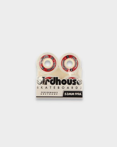 Birdhouse Birdhouse Wheels Logo Red 99A 53 MM