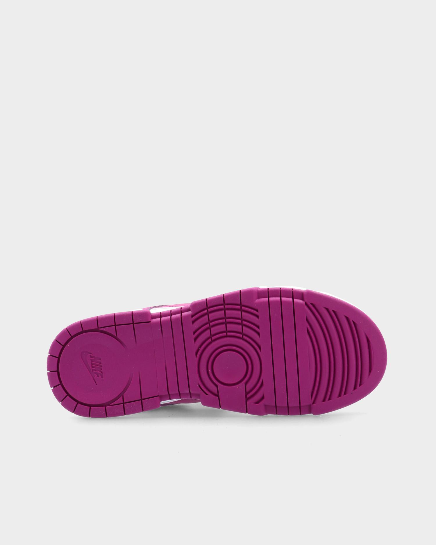 Nike Dunk Low Disrupt White/red plum